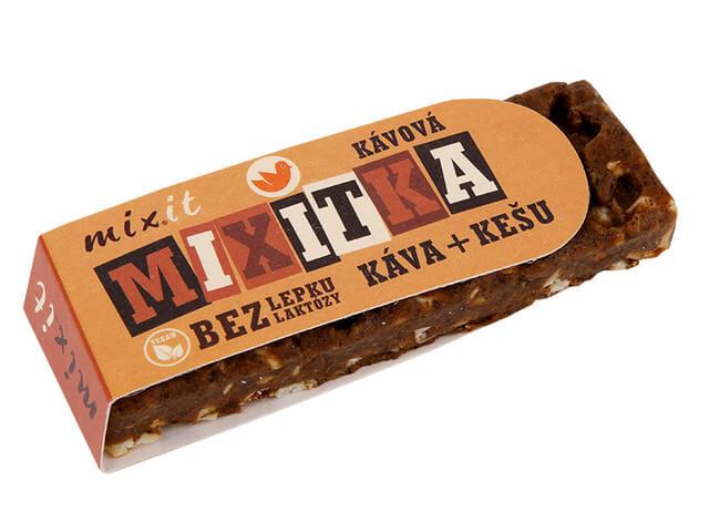 Mixitka bez lepku MIXIT - Káva + kešu 50 g