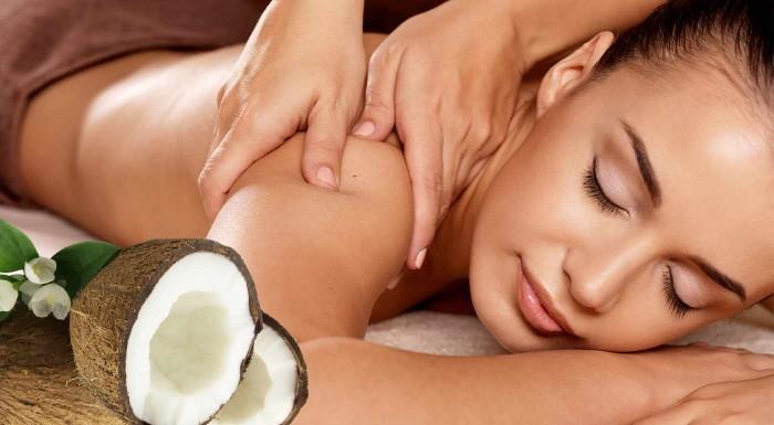 Zabudnite na chvíľu na každodenné starosti a vyberte sa do Salónu Natália. Tam si vychutnáte príjemnú masáž kokosovým olejom, ktorá vás svojou vôňou prenesie do letnej exotiky!
