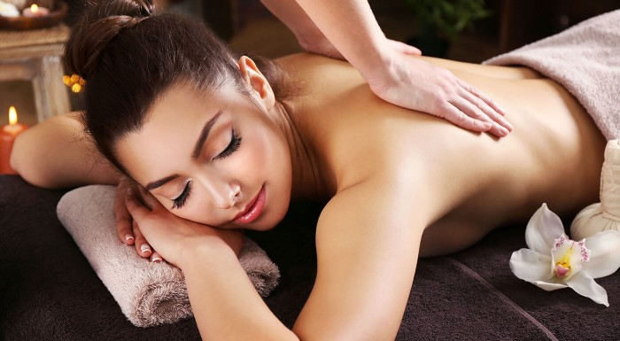 Relaxačná masáž pre každú dámu
