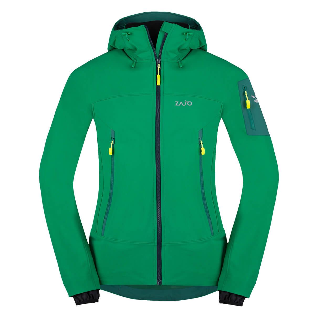 Pánska bunda Zajo Air LT Hoodie JKT Golf Green  - veľkosť S