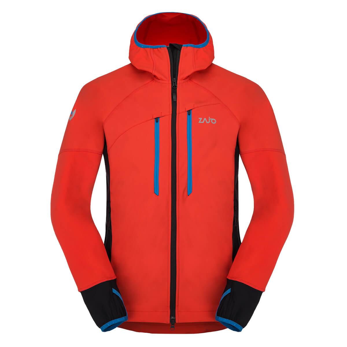 Pánska bunda ZAJO Ramsau Jkt Red - veľkosť S