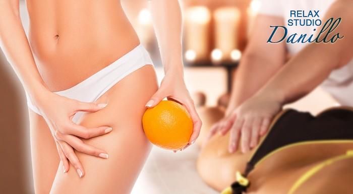 90-minútová anticelulitídna masáž v salóne Danillo