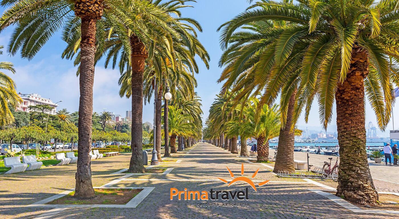 Palmová riviéra, Taliansko: letná dovolenka na 5 dní pri priezračnom mori pod tropickými palmami