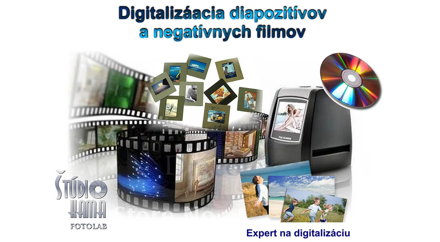 Digitalizácia diapozitívov alebo negatívov - oživte svoje staré spomienky zachytené na starých filmoch!
