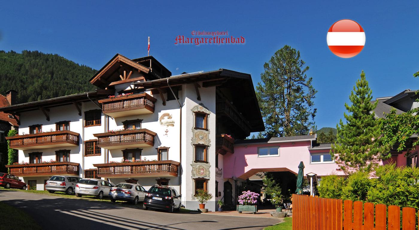 Rakúske Alpy: pobyt v luxusnom kúpeľnom Erholungshotel Margarethenbad**** s neobmedzeným wellness