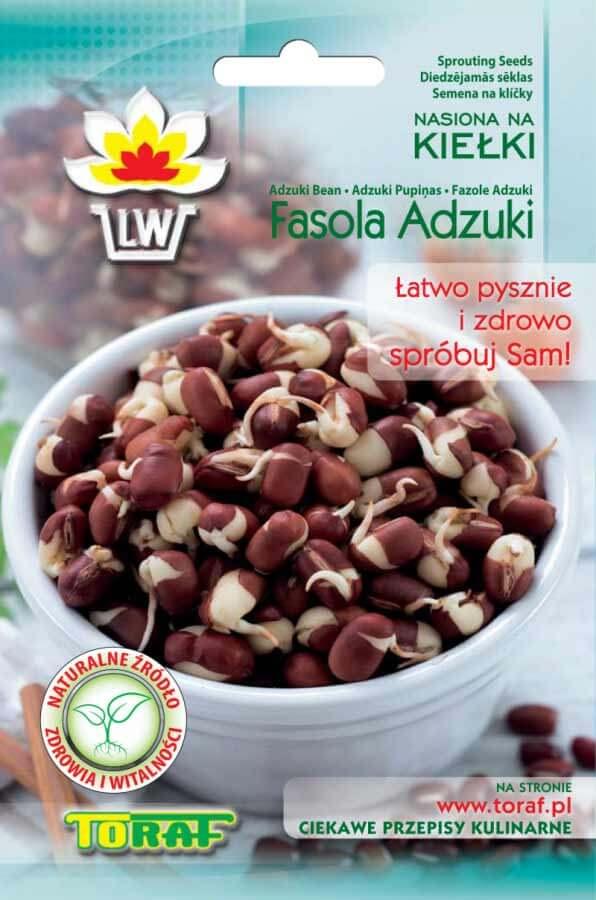 Toraf Fazuľa Adzuki 50 g Semienka na klíčenie