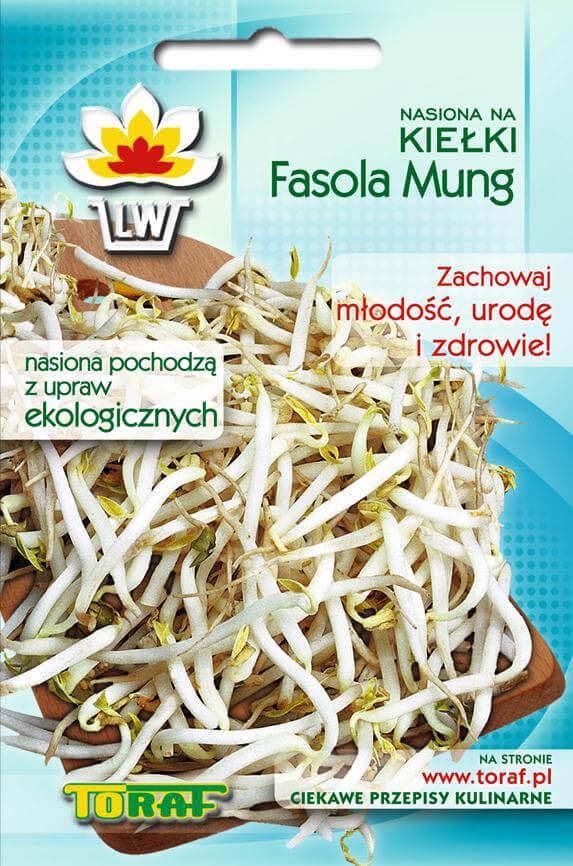 Toraf Fazuľa Mungo 50 g Semienka na klíčenie