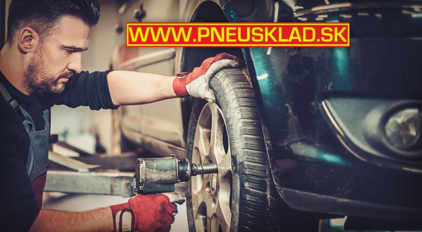 Jarné prezutie a uskladnenie pneumatík až do veľkosti 20 palcov v bratislavskom Pneusklade