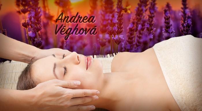 Levanduľová masáž tváre a dekoltu v Bratislave