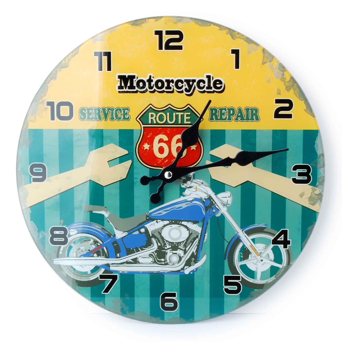 Nástenné hodiny Affek Design Motorcycle