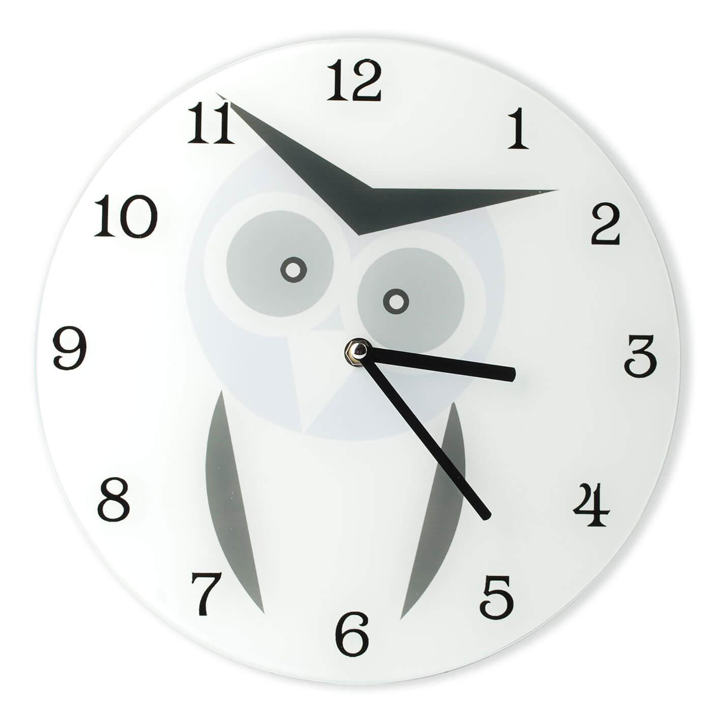Nástenné hodiny Affek Design Sova