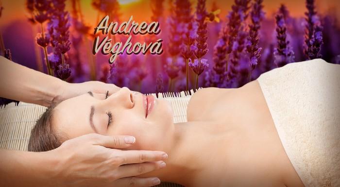 Levanduľová masáž chrbta a tváre pre dámy