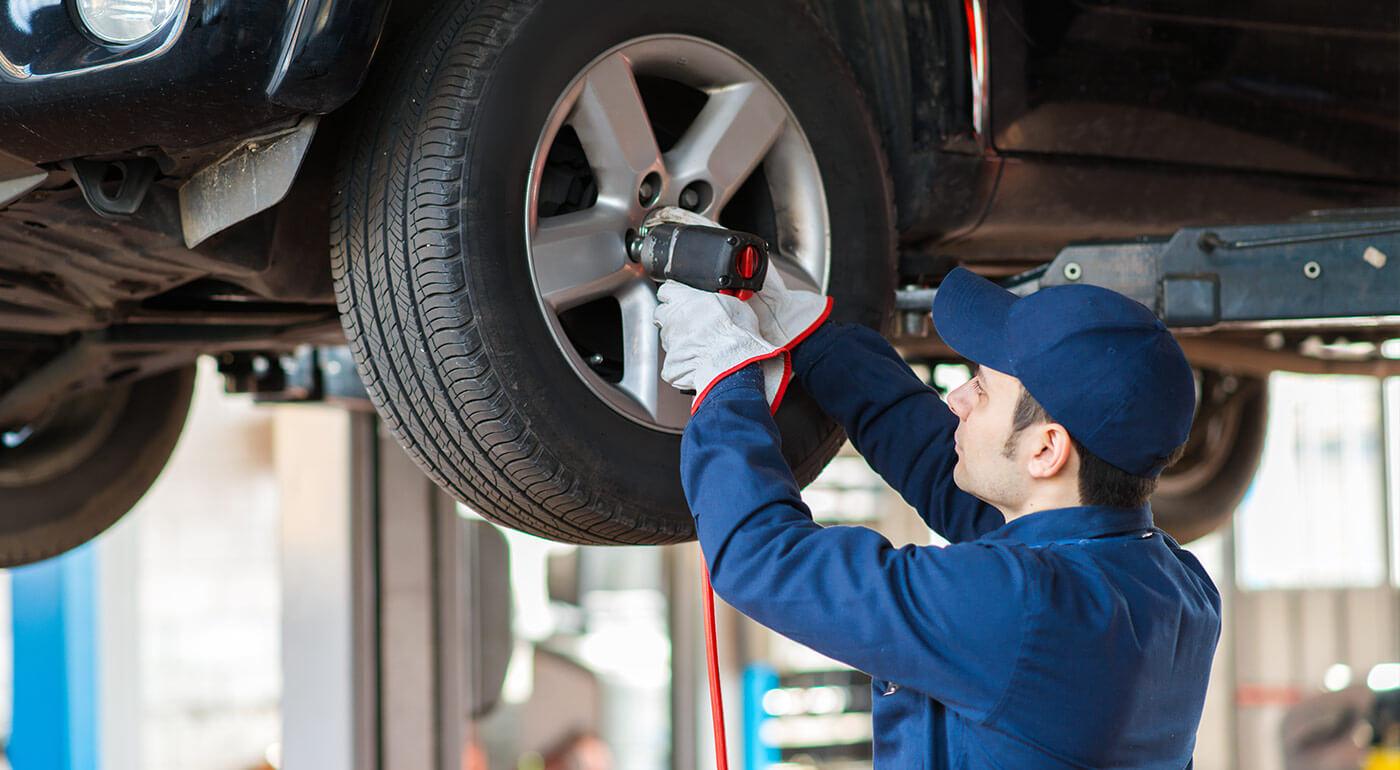 Výmena kolies, prezutie pnematík alebo uskladnenie pneumatík na sezónu v Autoservise G&B Corporation
