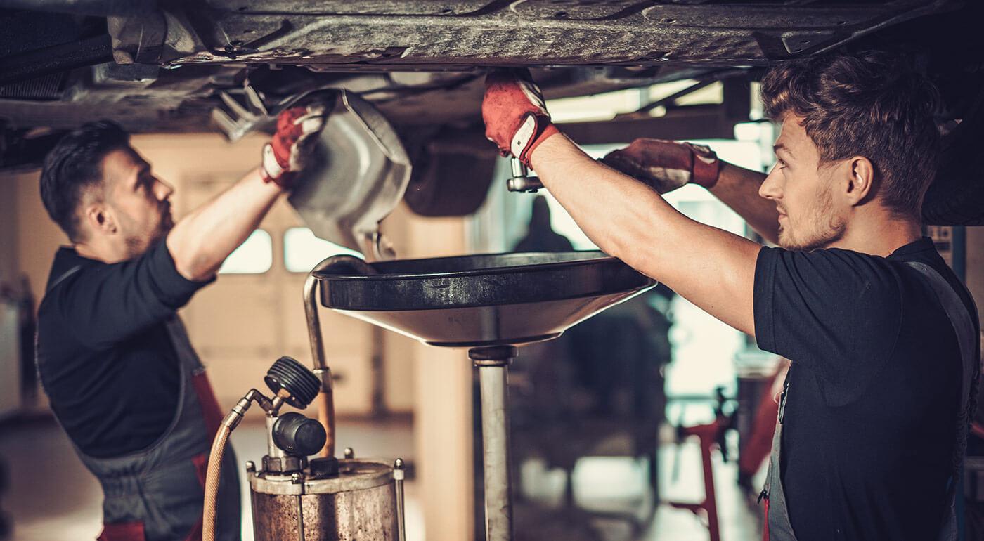 Výmena oleja a olejového filtra v Autoservise G&B Corporation v Petržalke