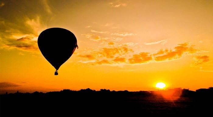 Zážitkový let balónom - rôzne po Slovensku