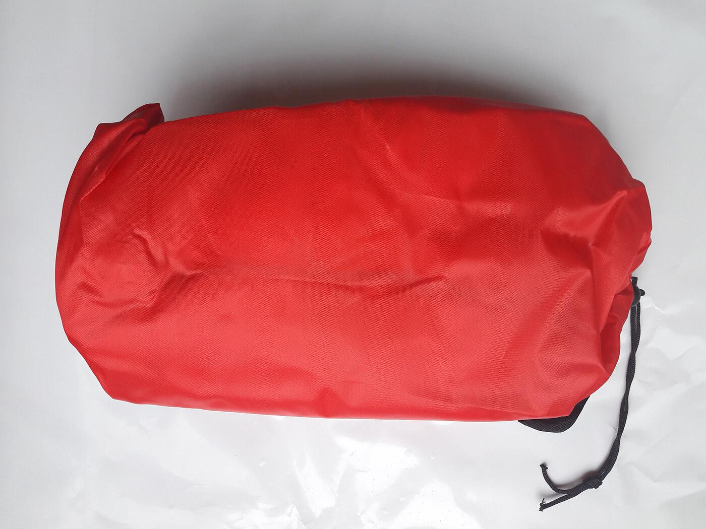 Nafukovacie ležadlo LazyBag červené