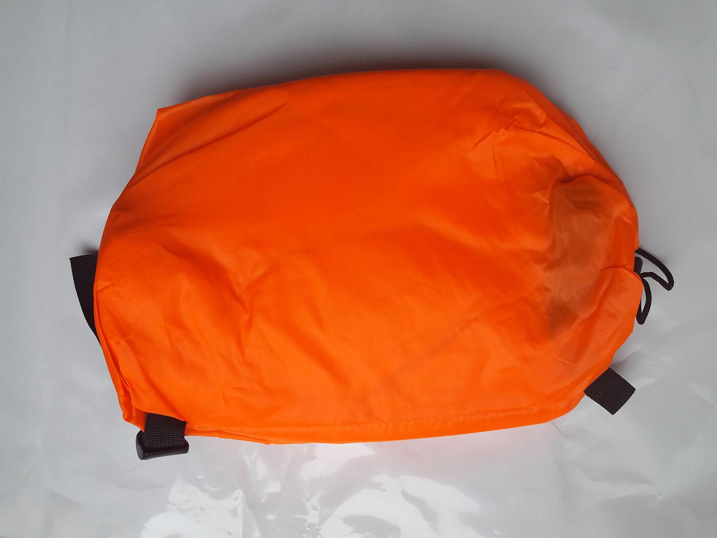 Nafukovacie ležadlo LazyBag oranžové
