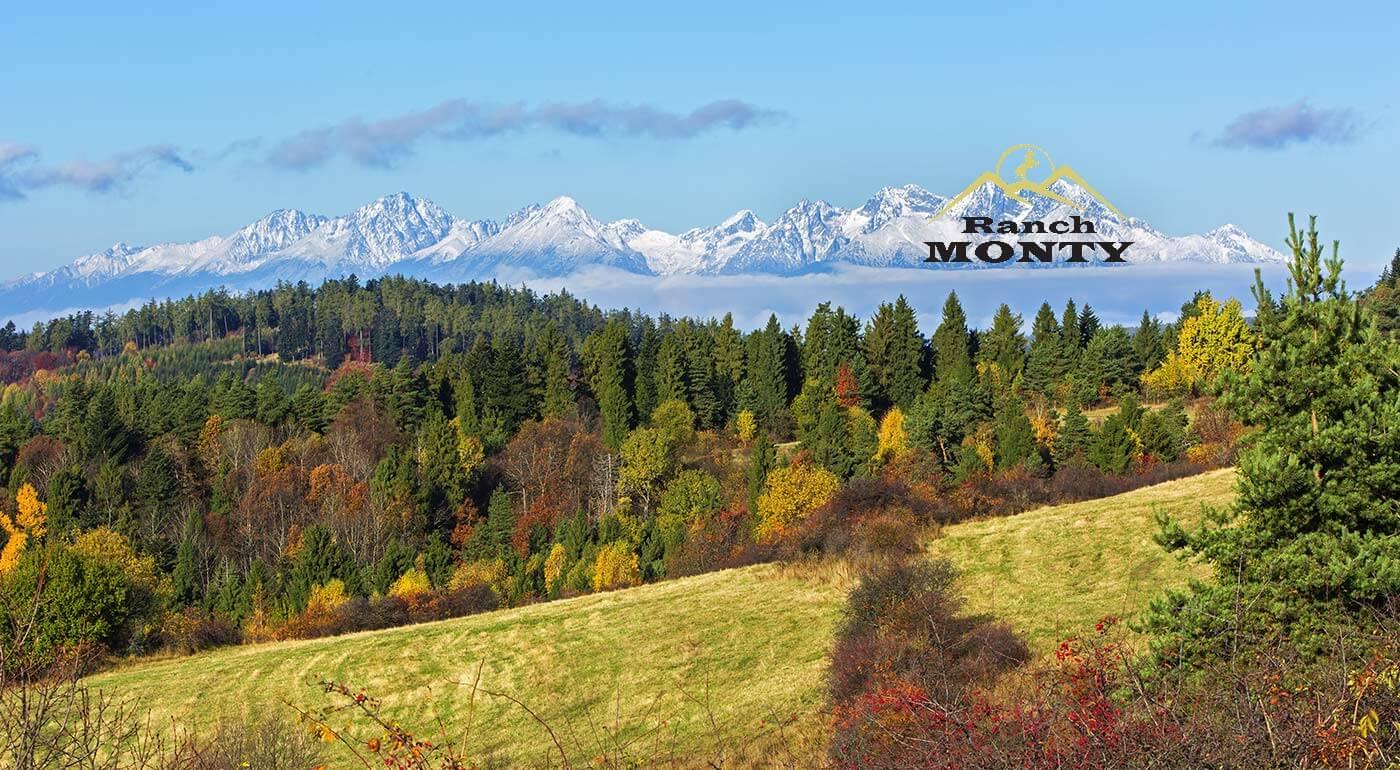 Pobyt vo Vysokých Tatrách s jazdou na koni v Penzióne Monty Ranch