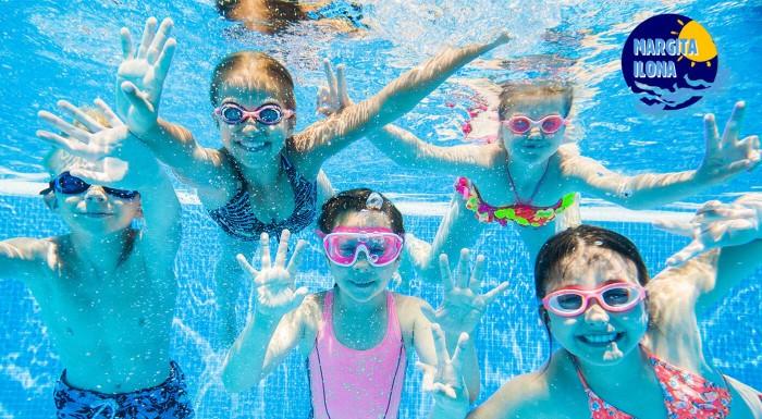 Letný relax v areáli kúpaliska Margita - Ilona