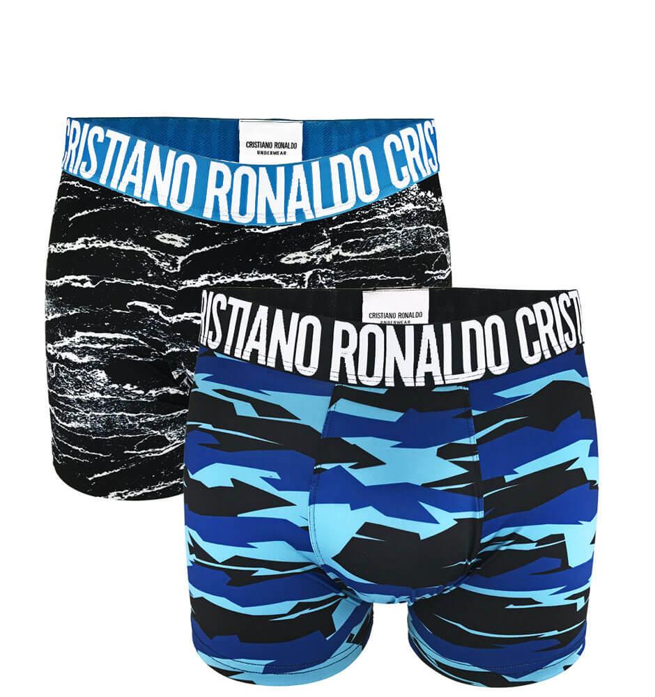 Boxerky Cristiano Ronaldo CR7 Wavy - veľkosť M