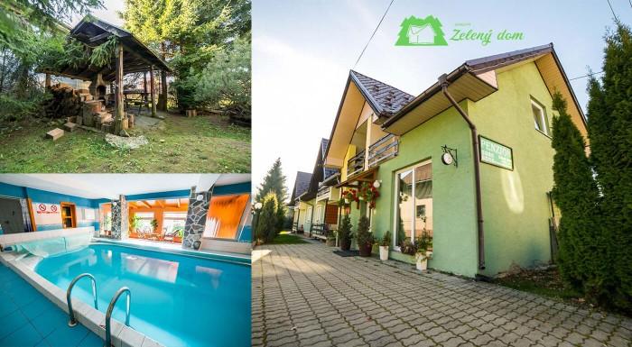 Hľadáte bezstarostné miesto na letný oddych? Prijmite pozvanie do Penziónu Zelený dom v blízkosti Aquaparku Oravice aj so vstupom do bazénu, soľnej jaskyne a sauny!