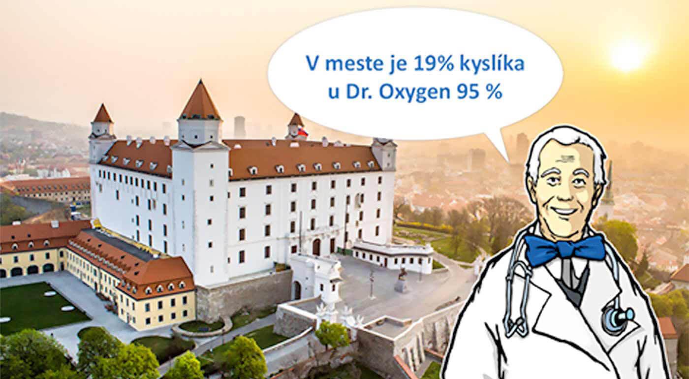 Osviežujúca oxygenoterapia 95% kyslíkom v bratislavskom Diamond Skin