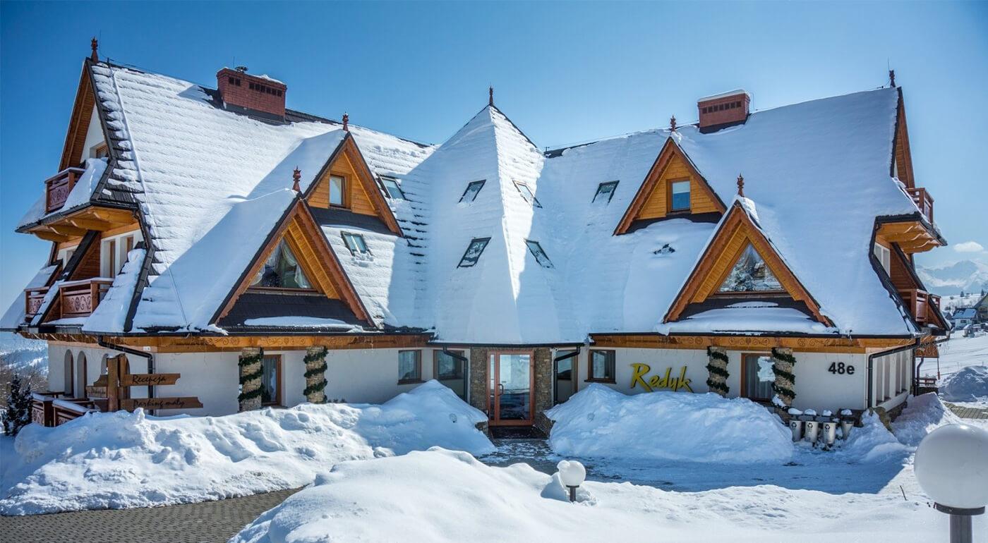 Poľské Tatry: pobyt v hoteli Redyk Ski & Relax*** aj s polpenziou a súkromnou vírivkou pre dvoch