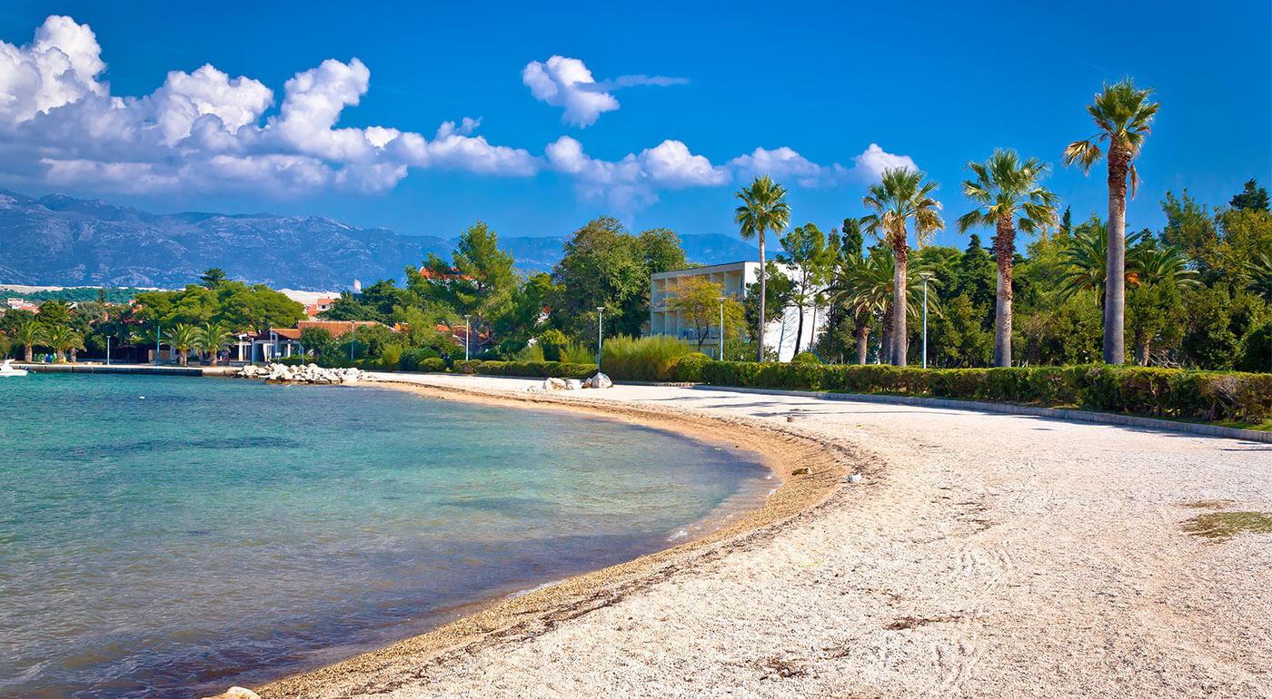 Chorvátsko, ostrov Pag: dovolenka v Liberty Hoteli** pri súkromnej pláži na 4 dni pre dvoch aj s raňajkami