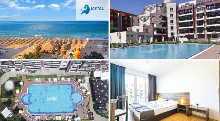 Dovolenkovať v Bulharsku sa dá aj bez toho, aby ste narušili svoj rodinný rozpočet. A dá sa to aj s kvalitným ubytovaním - v apartmánoch Admiral Plaza Hotel*** na Slnečnom pobreží!