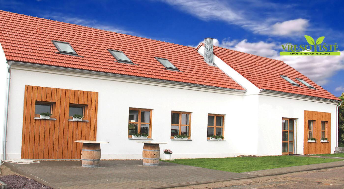 Južná Morava: 3-dňový oddych v Penzióne Vřesoviště vo vinárskej oblasti s ochutnávkou vín pre dvoch
