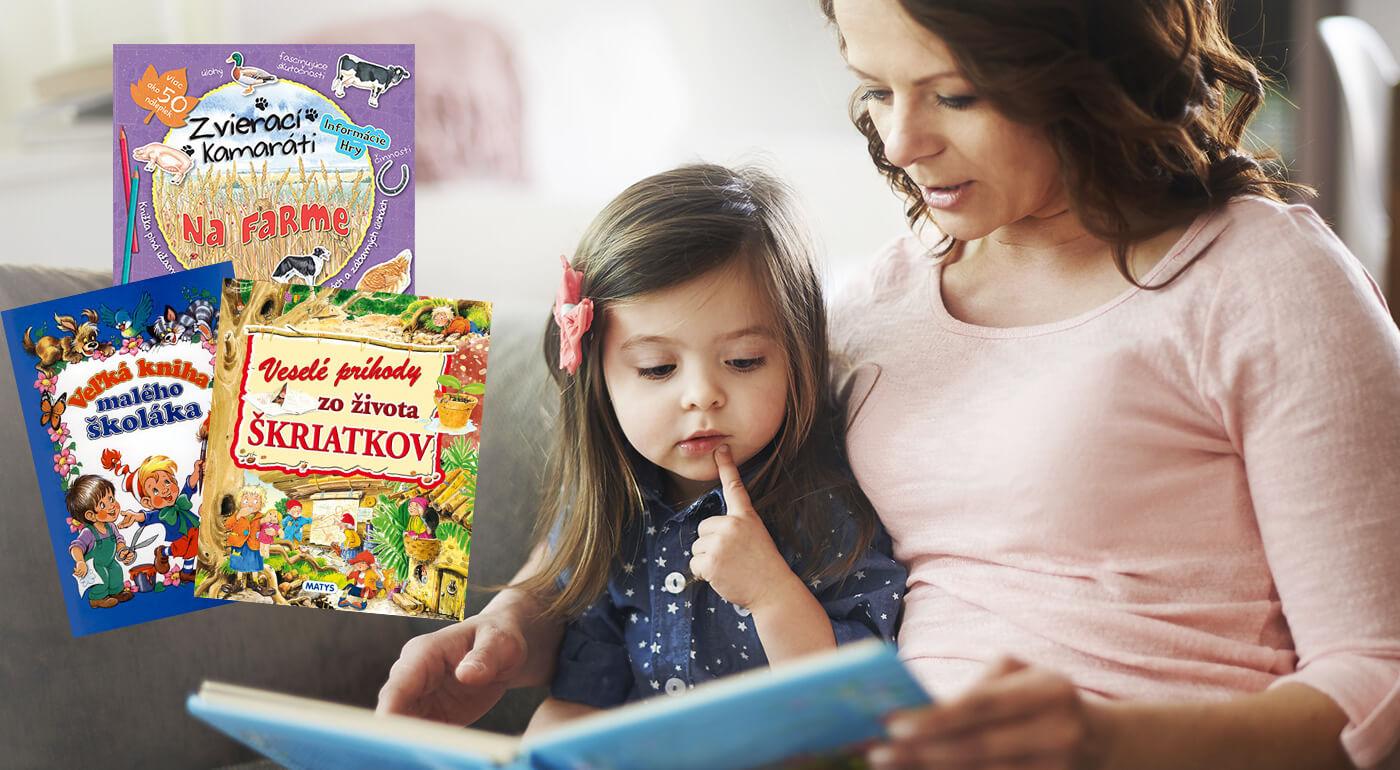 Knihy pre najmenšie deti z vydavateľstva Matys plné nádherných ilustrácii a poučných príbehov