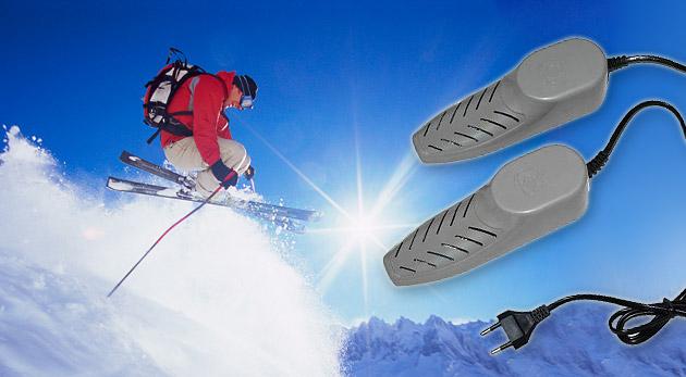 Elektronický sušič topánok alebo lyžiarok. Limit 200 kupónov.
