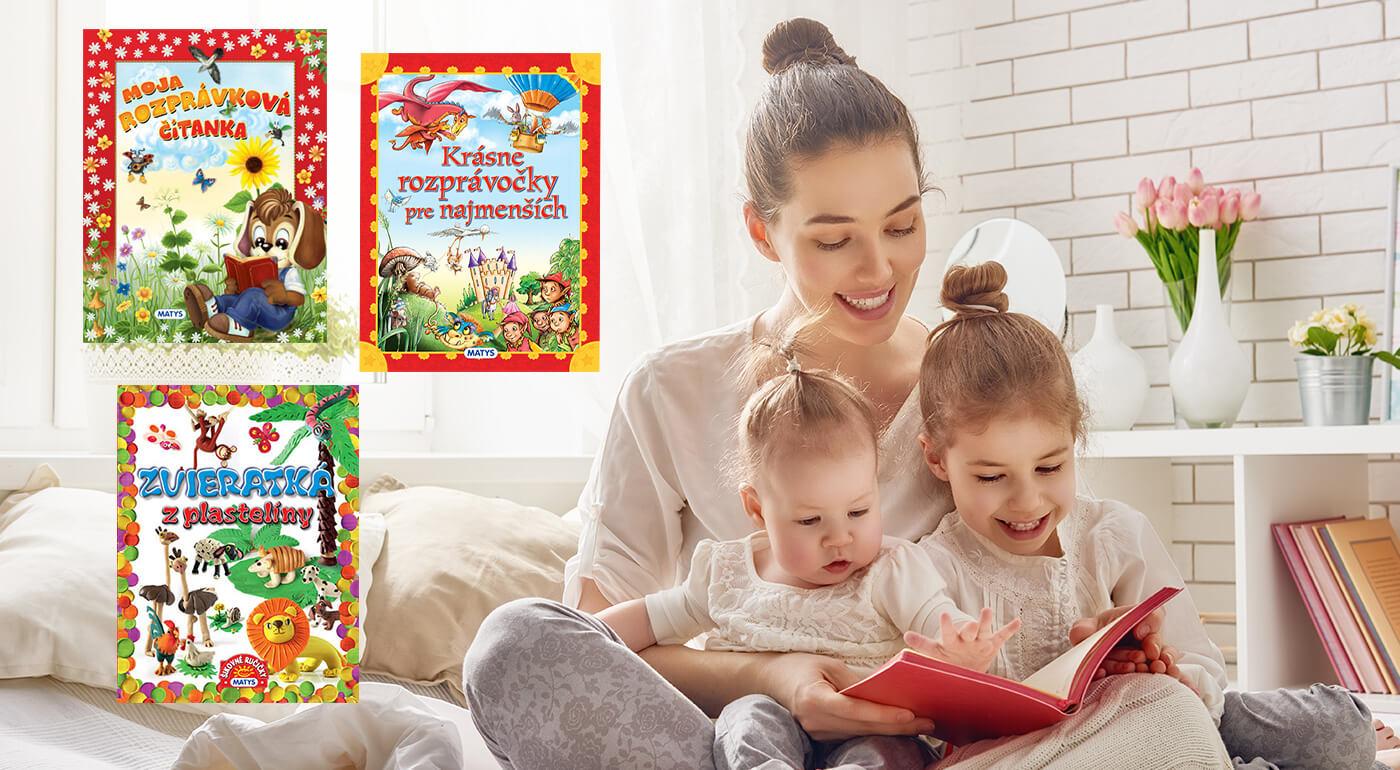 Poučné knižky z vydavateľstva Matys - skvelý darček pre škôlkarov a predškolákov!
