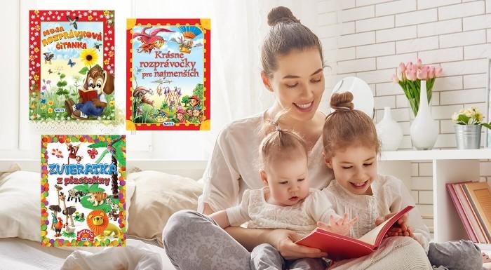 Knihy pre škôlkarov a predškolákov