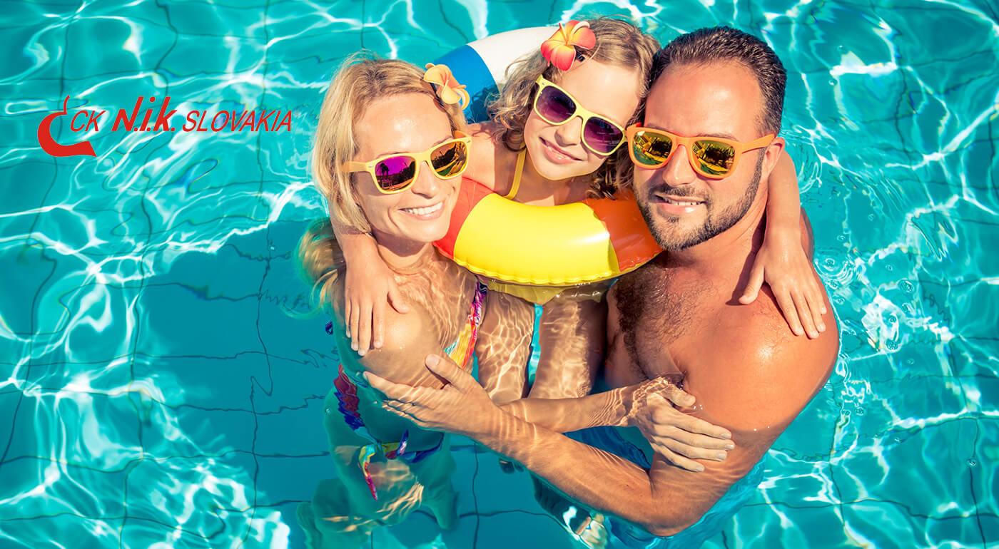 4-dňová letná dovolenka v apartmáne alebo štúdiu blízko areálu termálneho kúpaliska Vadaš Štúrovo