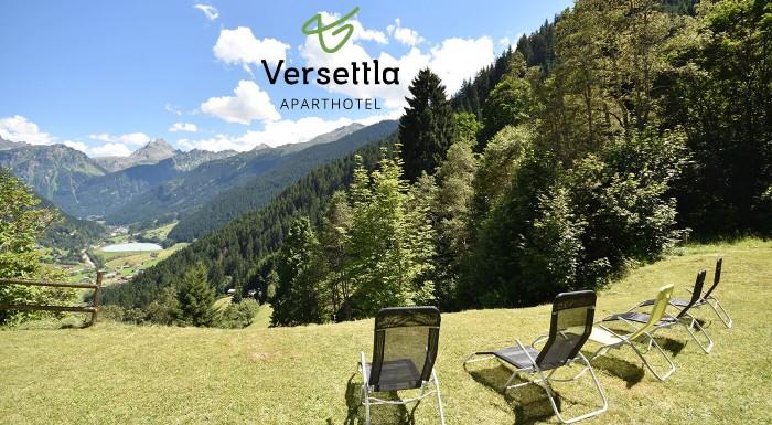 Leto uprostred rakúskych Álp. Prežite bezchybnú dovolenku v Aparthoteli Versettla*** s vynikajúcou polpenziou a množstvom turistických trás v okolí.