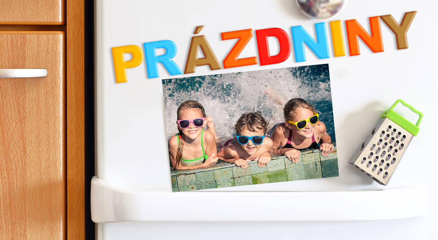 Magnetky, pozdravy či pohľadnice s vlastnou fotografiou v rôznych rozmeroch