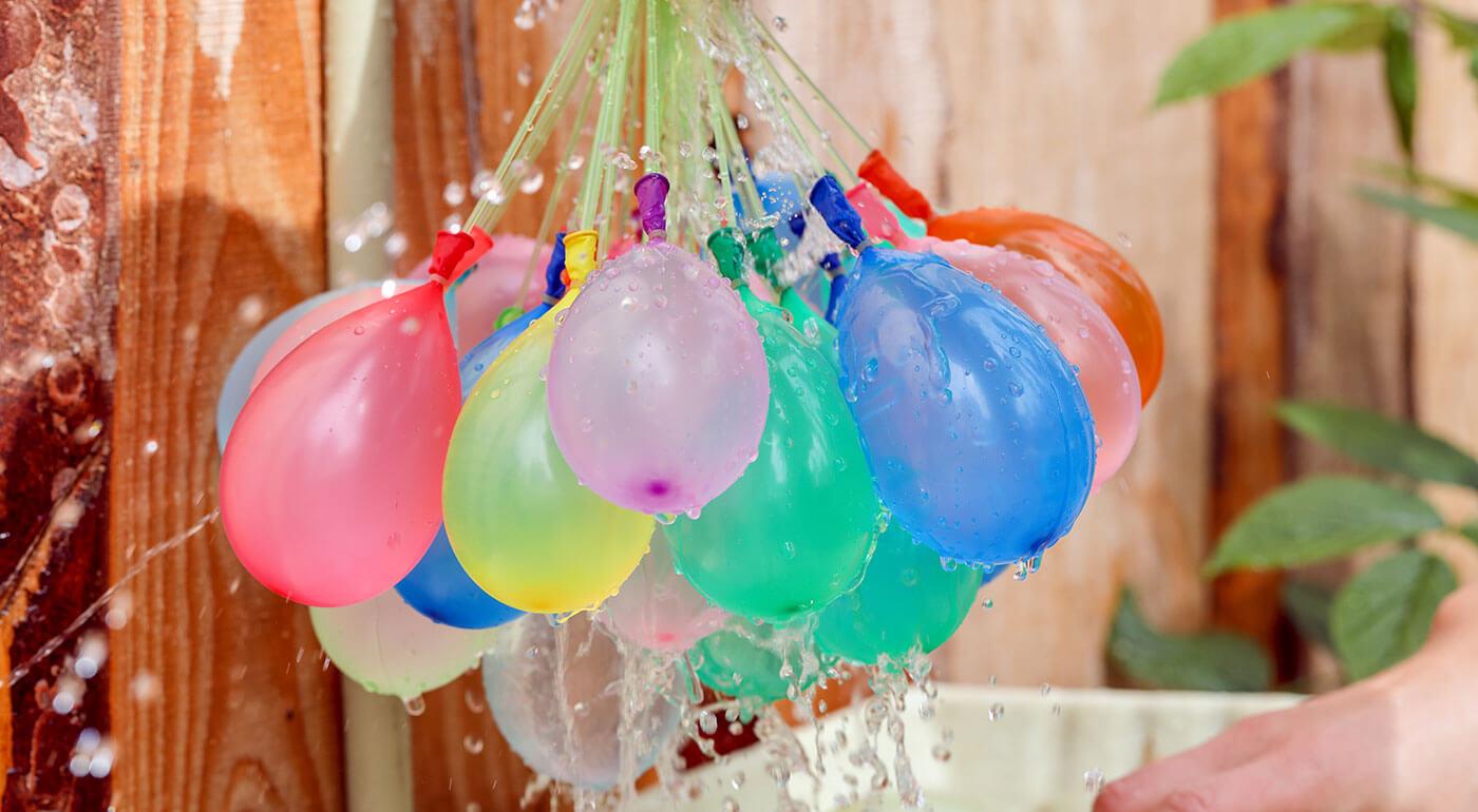 Vodné balóny - zábavná hra pre malých i veľkých