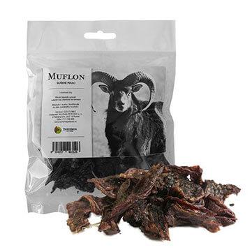 Sušené mäso pre psov Bohemia - muflón 50 g