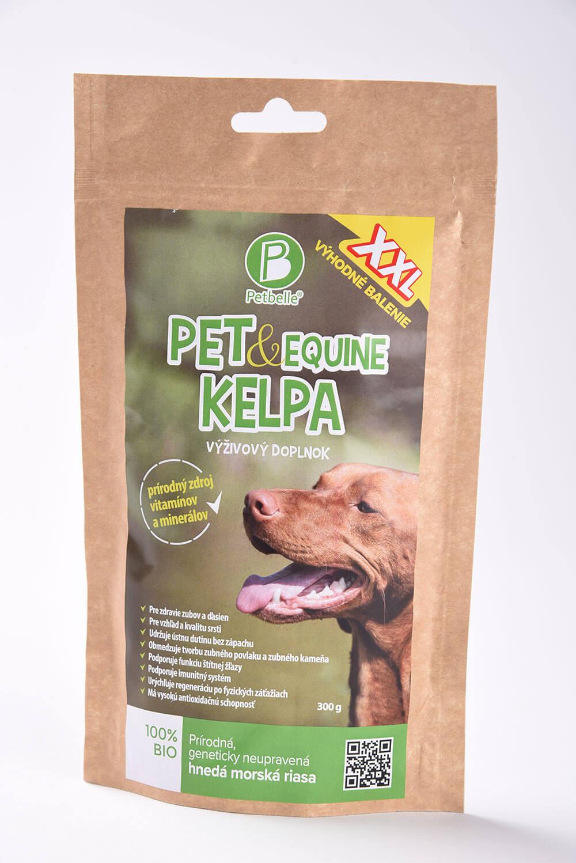 Doplnok výživy pre psa Petbelle Pet & Equine Kelpa - prírodný zdroj vitamínov a minerálov 300 g