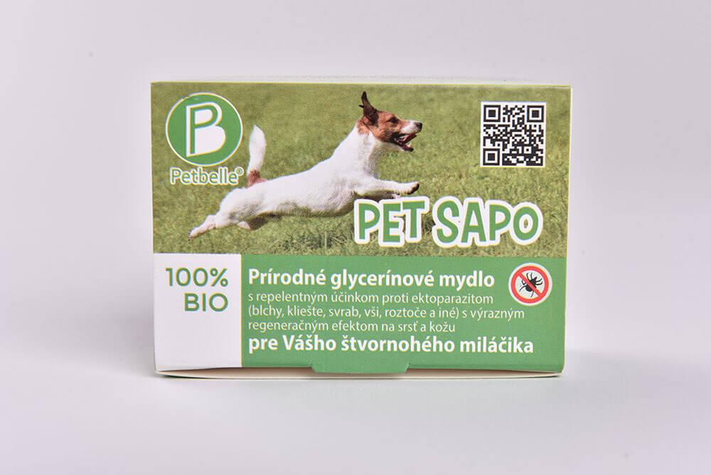 Glycerínové antiparazitické mydlo pre psov Petbelle Pet Sapo 100 g