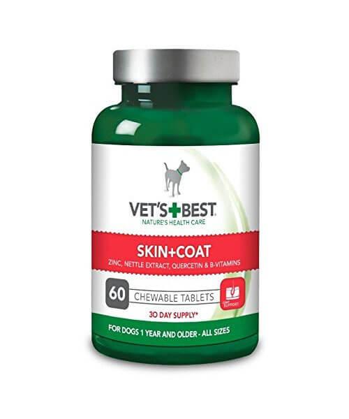 Žuvacie tablety na srsť a kožu pre psov Vet´s Best