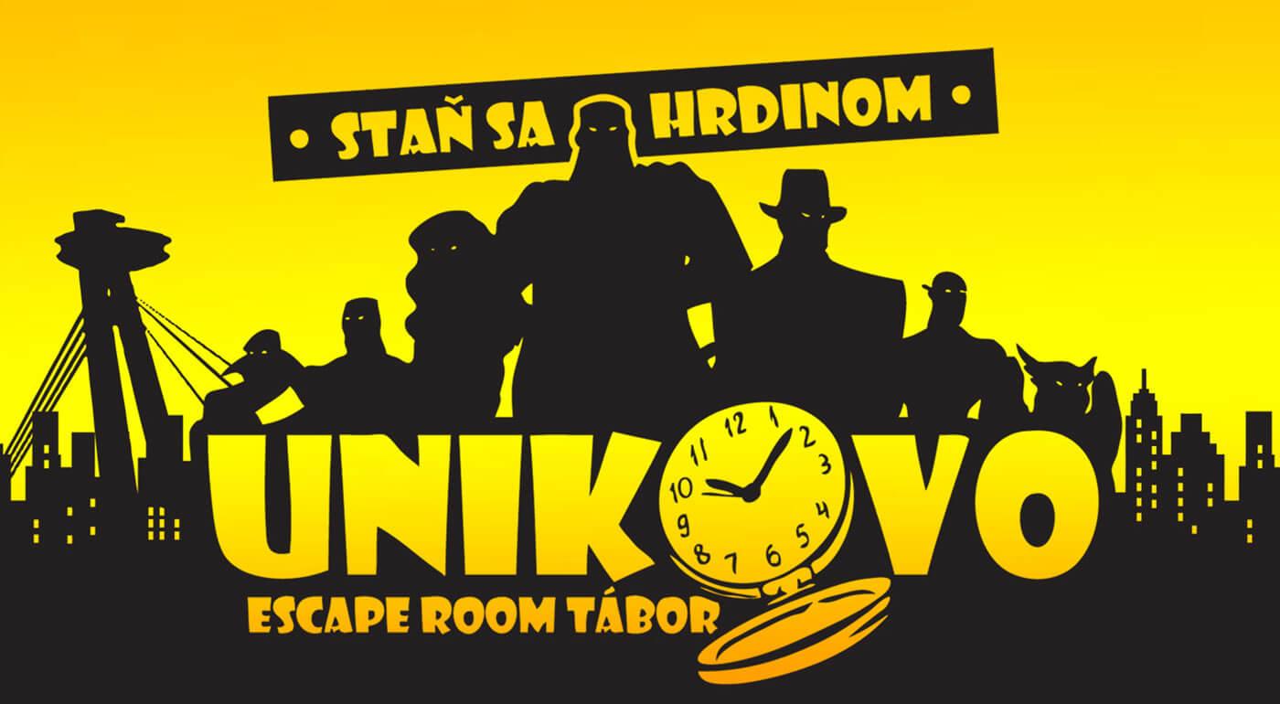 Originálny escape room tábor Únikovo pre deti od 7 do 13 rokov priamo v centre Bratislavy - jediný svojho druhu a iba u nás!