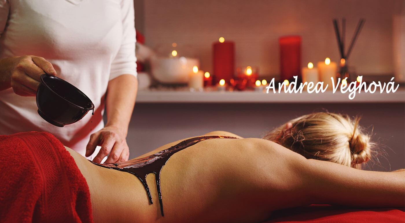 Čokoládové masáže v Relaxačnom salóne v Bratislave špeciálne pre dámy