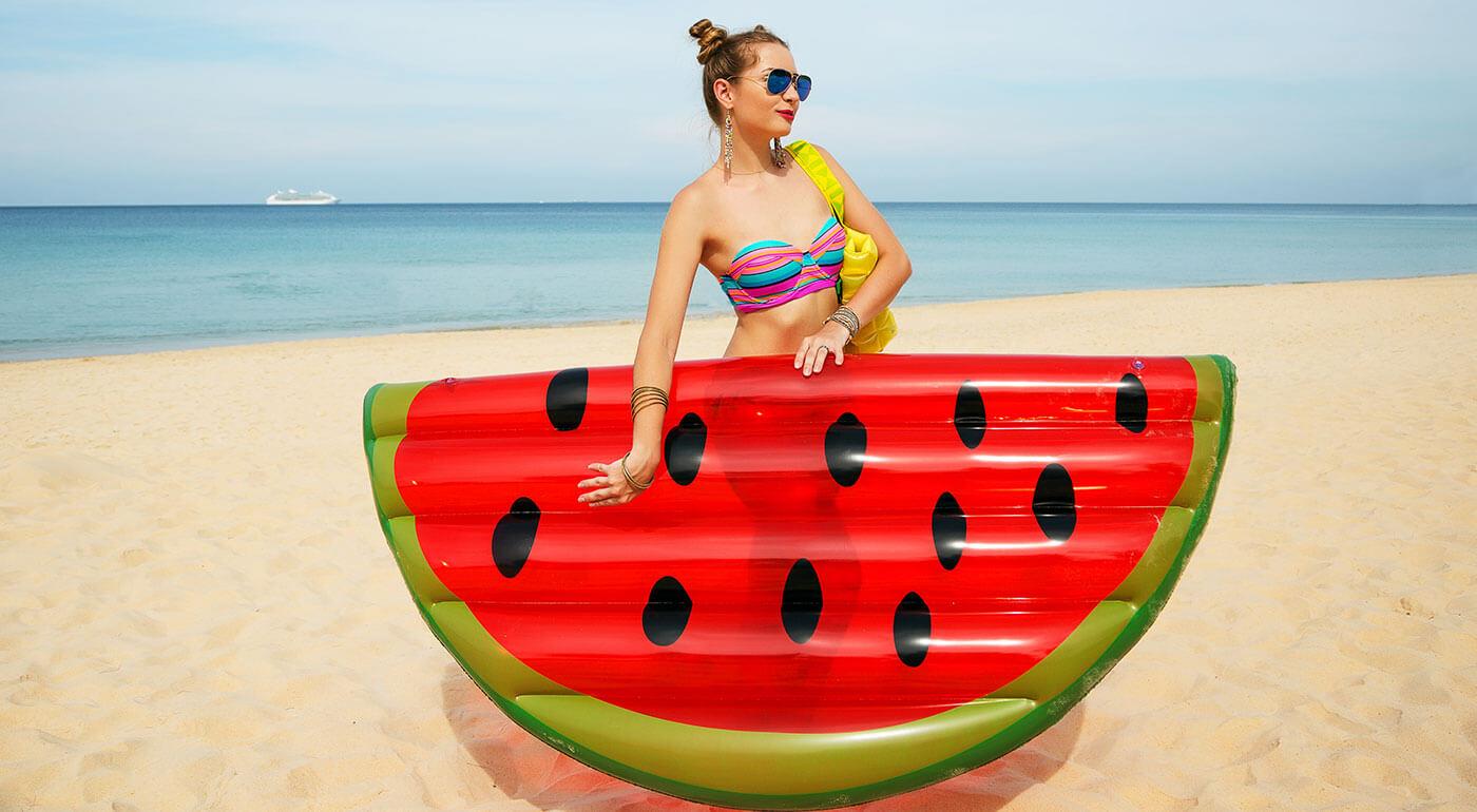 Štýlové nafukovačky v tvare ovocia - dokonalá vychytávka na toto leto!