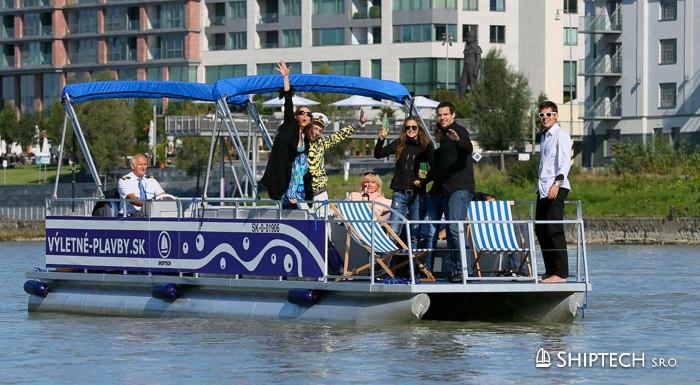 Plavba výletnou loďou po Dunaji
