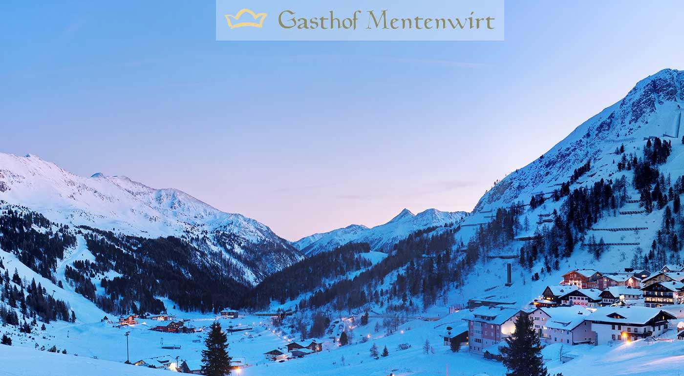 Rakúske Alpy: Zimná dovolenka v penzióne Gasthof Mentenwirt - pripravte sa na dokonalú alpskú lyžovačku a turistiku