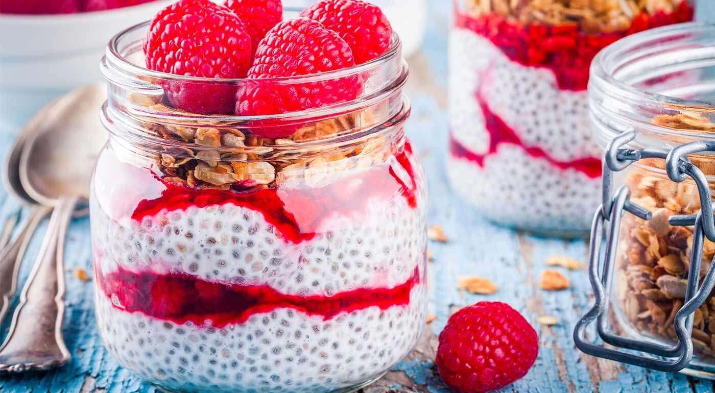 Zdravé chia semienka bohaté na bielkoviny, množstvo minerálov a omega-3 mastné kyseliny