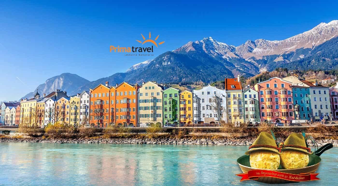 Skvelý víkend v Rakúsku: Innsbruck, Swarovského svet krištáľov a knedlíkový festival