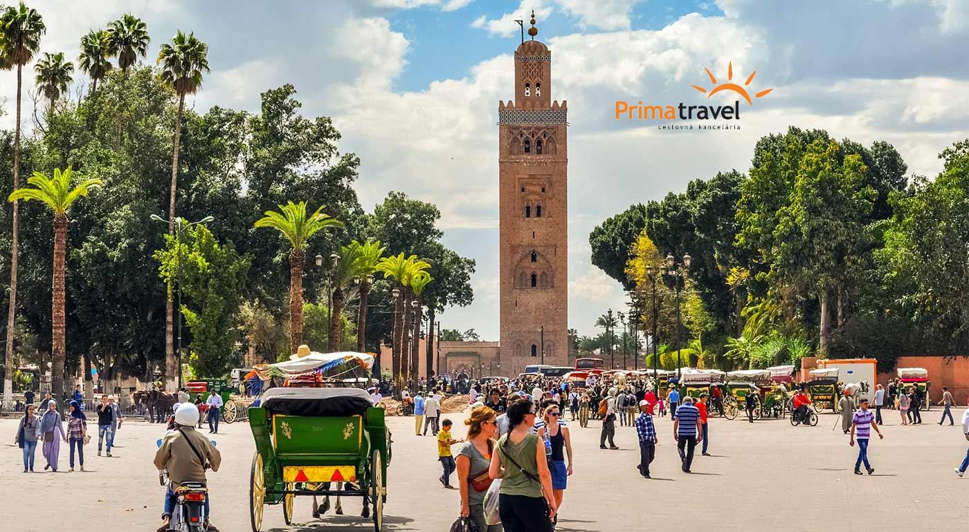 Maroko: 4-dňový zájazd do Marrakéša, orientálneho mesta s takmer 1000-ročnou históriou